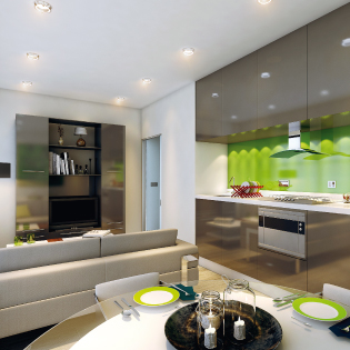 contemporary investment apartment